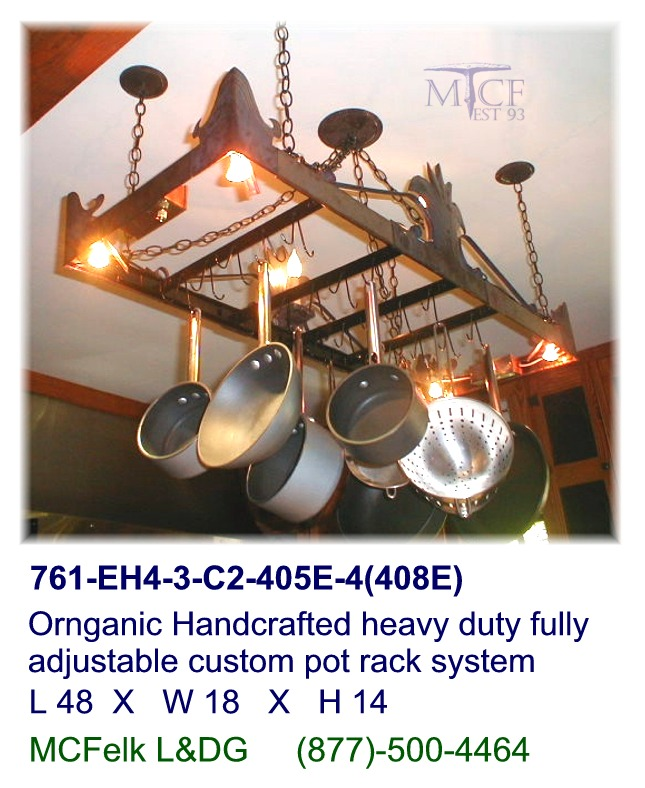 Ceiling Hung Pot Rack Systems
